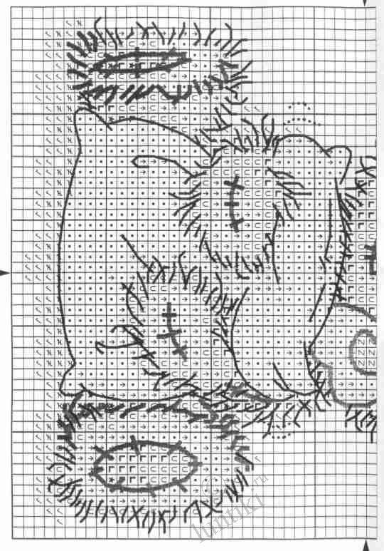 Старинные схемы вышивки крестом: практика для новичков 91